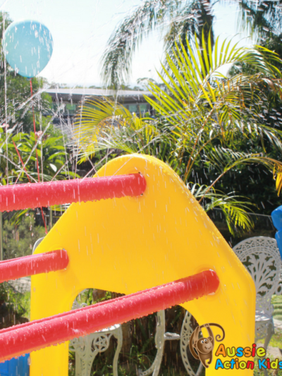 Toddler Climber with Spray Bar at Aussie Action Kids