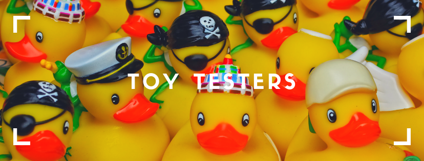 Toy Testers for Aussie Action Kids