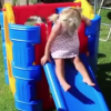 Aussie Action Kids Toddler Play Gym in Garden
