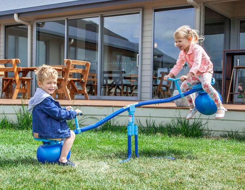 Aussie Action Kids Twisting Bubble See Saw